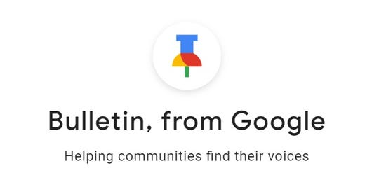 Bulletin, a new tool from Google, is designed to allow people