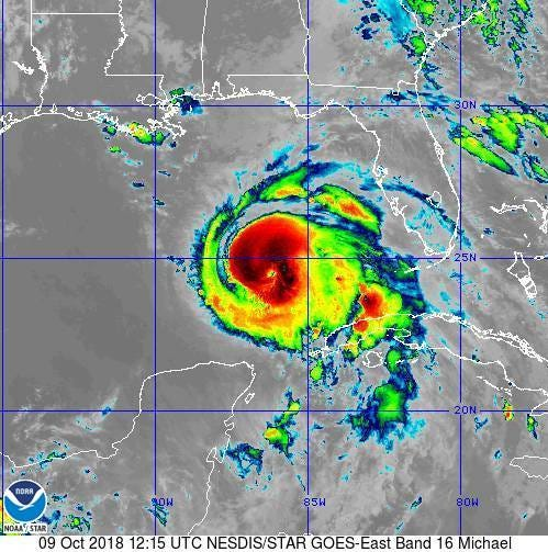 Hurricane Michael upgraded to Category 3: Here's where it's headed for now