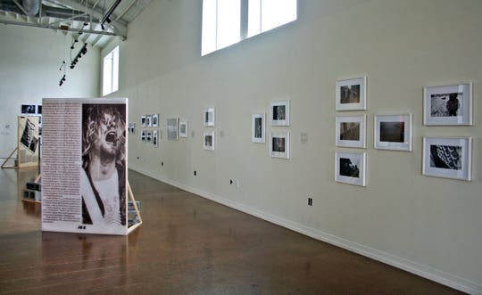"Installation view of ""Mixtape"", on view at Zeitgeist Gallery."