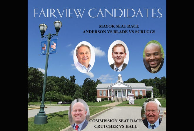 Fairview City Election candidates