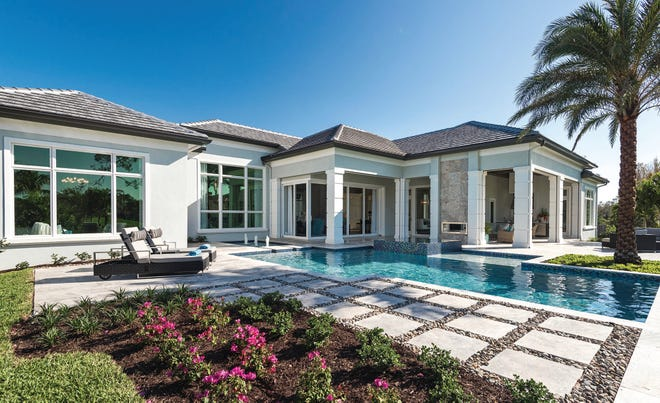McGarvey's Southampton model in Quail West is priced at $3.75 million, including furnishings