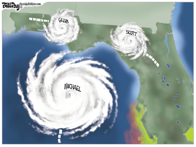 Hurricane cartoon