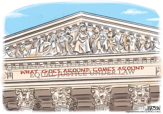Court Cartoon