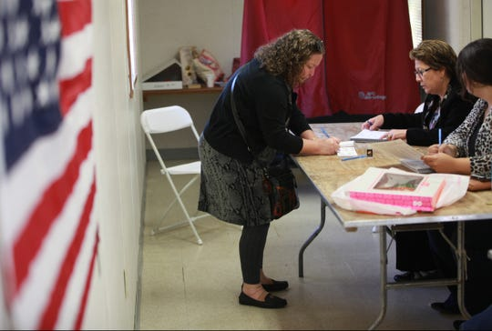 Voters have until Oct. 16  to register in New Jersey.