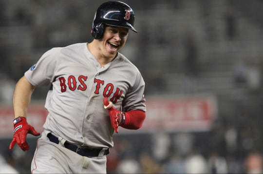 Brock Holt became the first player in Major League Baseball history to hit for the cycle in the post season after hitting a two-run homer in the ninth inning. Monday, October 8, 2018