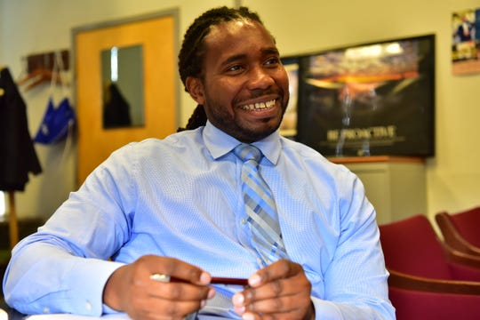 Christopher Irving, the Teaneck schools superintendent.