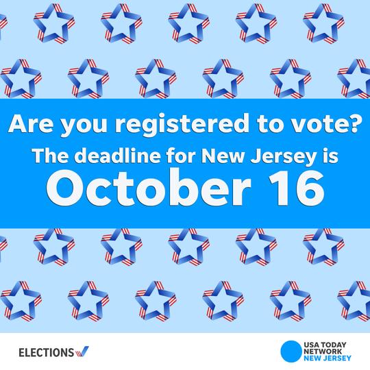 Register to Vote by Oct. 16