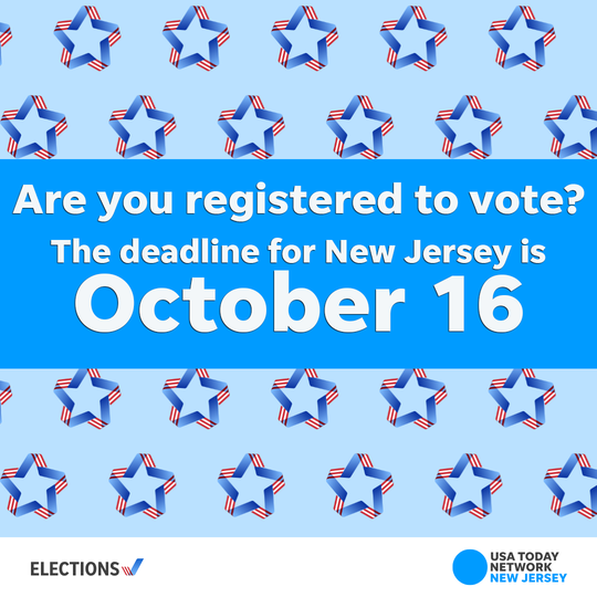 Register to Vote by Oct. 16