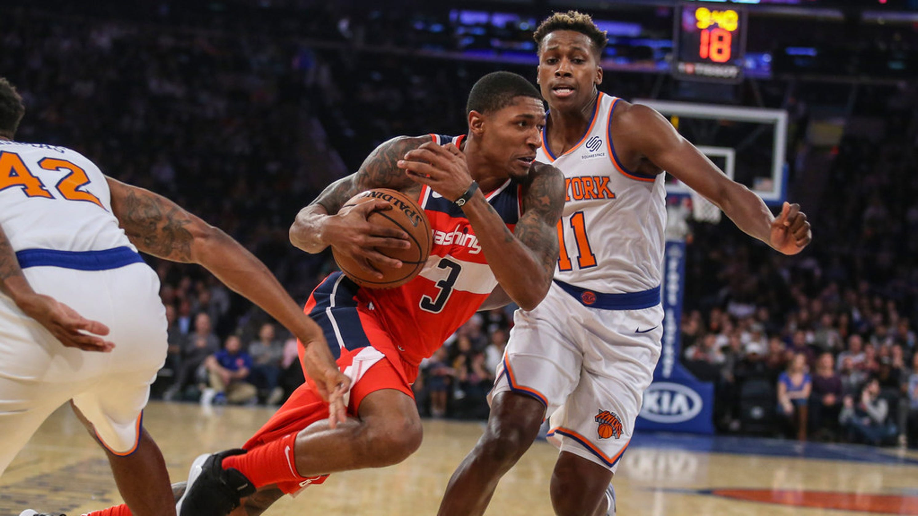 New York Knicks: New York Knicks: How Frank Ntilikina Fared In Preseason Start