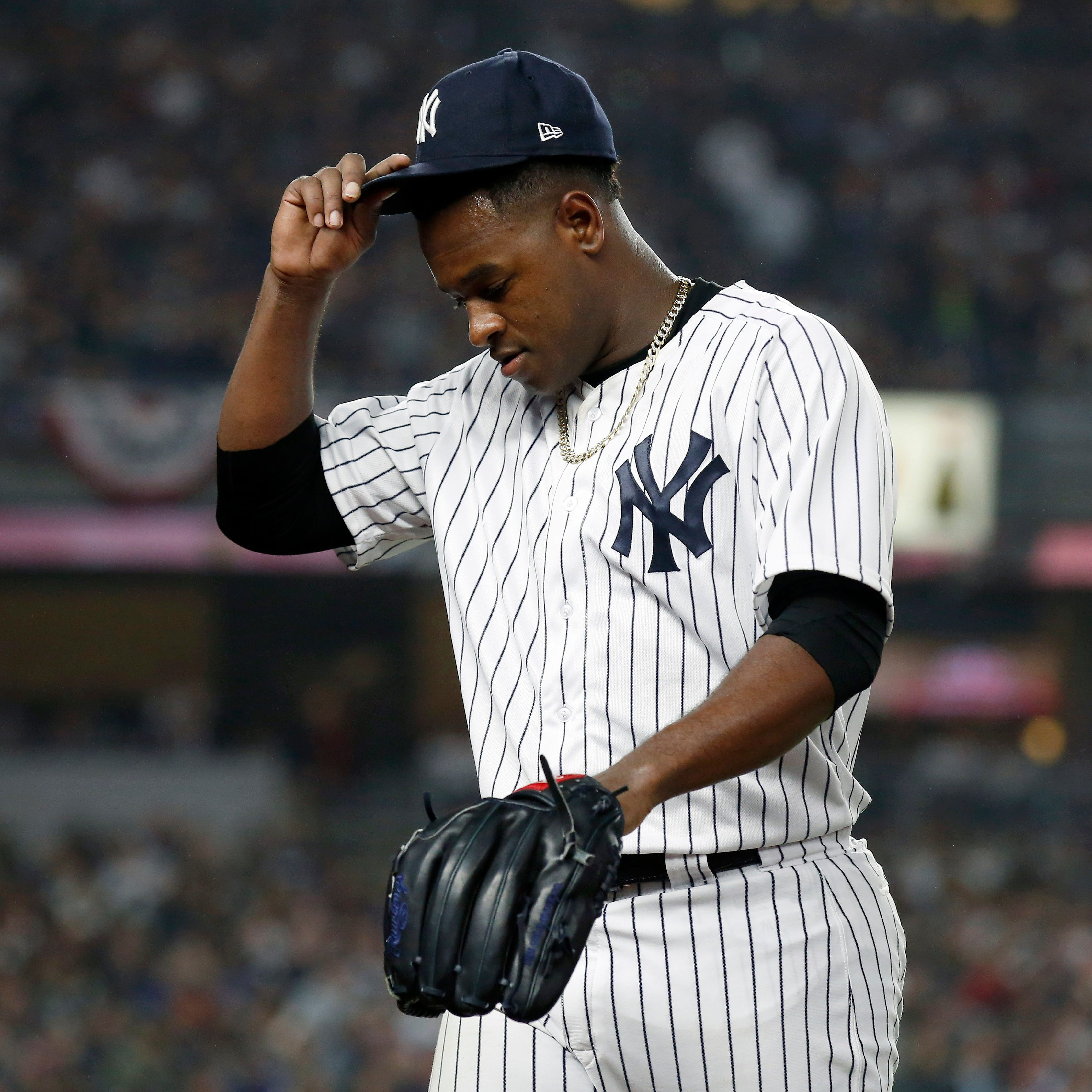 Yankees manager Aaron Boone: I should have taken Luis Severino out of Game 3 sooner'