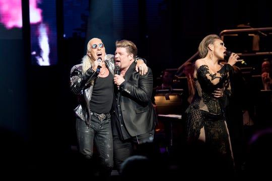 "Dee Snider, left, stars in ""Rocktopia"" at Bergen Performing Arts Center."