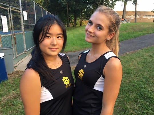 Joanna Song (left) and Sienna Balzano