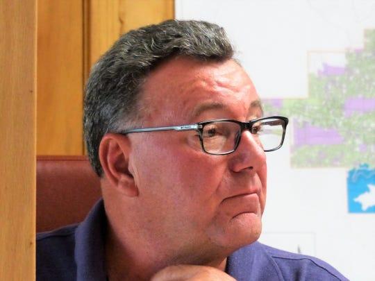 Alan Briley, former depity manager, serves on the village planning commission.
