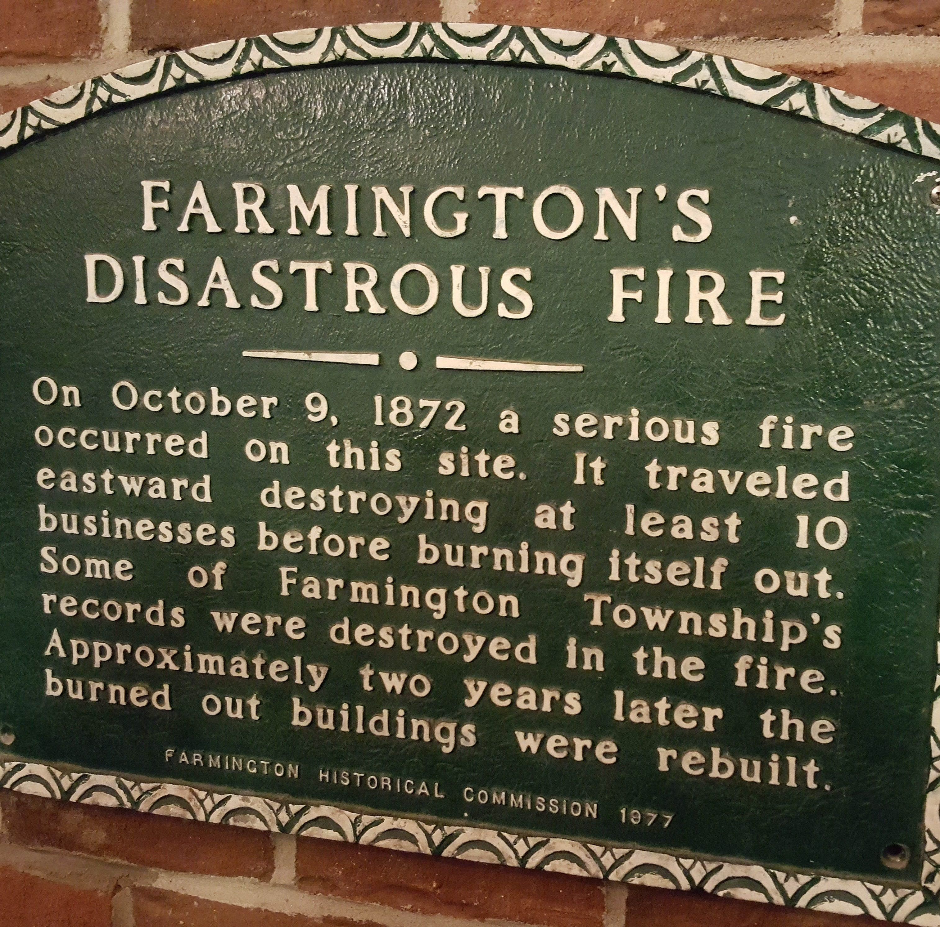 A Brief Look Back: Historic fires in local communities