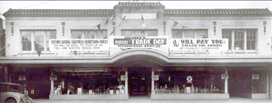 """Heymann's Department Store in old downtown Opelousas opened in 1930 and was known as a """"bargain store"""" with a big name"""