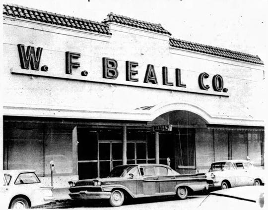 Beall's Department Store in the Heymann Building for its grand opening in 1963.