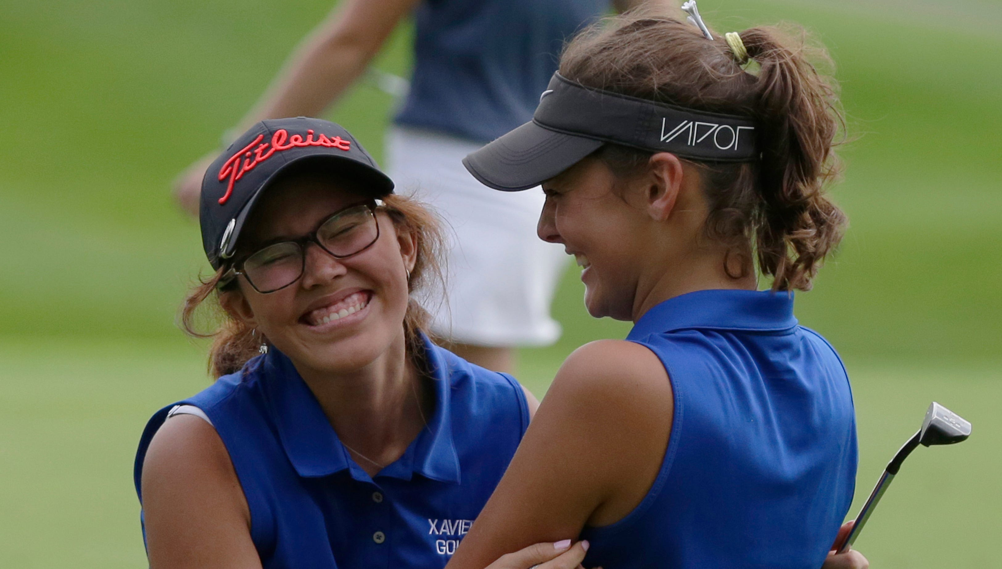 Xavier's Clair Phakamad wins Division 2 state golf title