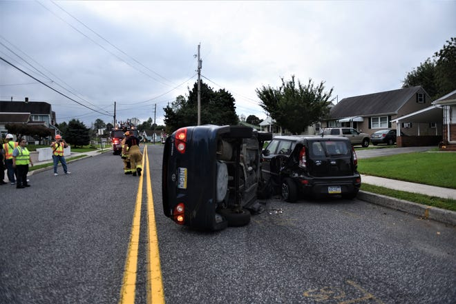 A woman crashed into parked vehicles on Beck Mill Road on Oct. 9.