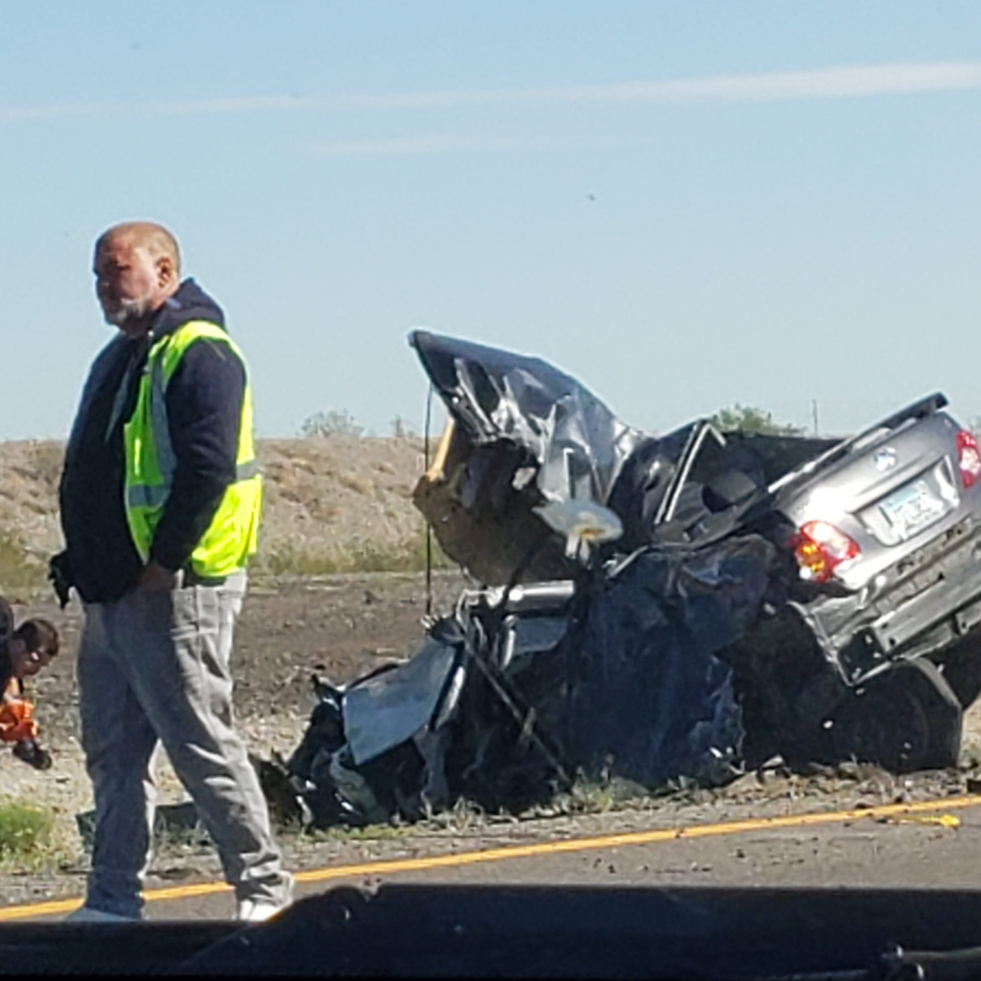 1 killed in 3-vehicle collision on Interstate 10 in Buckeye