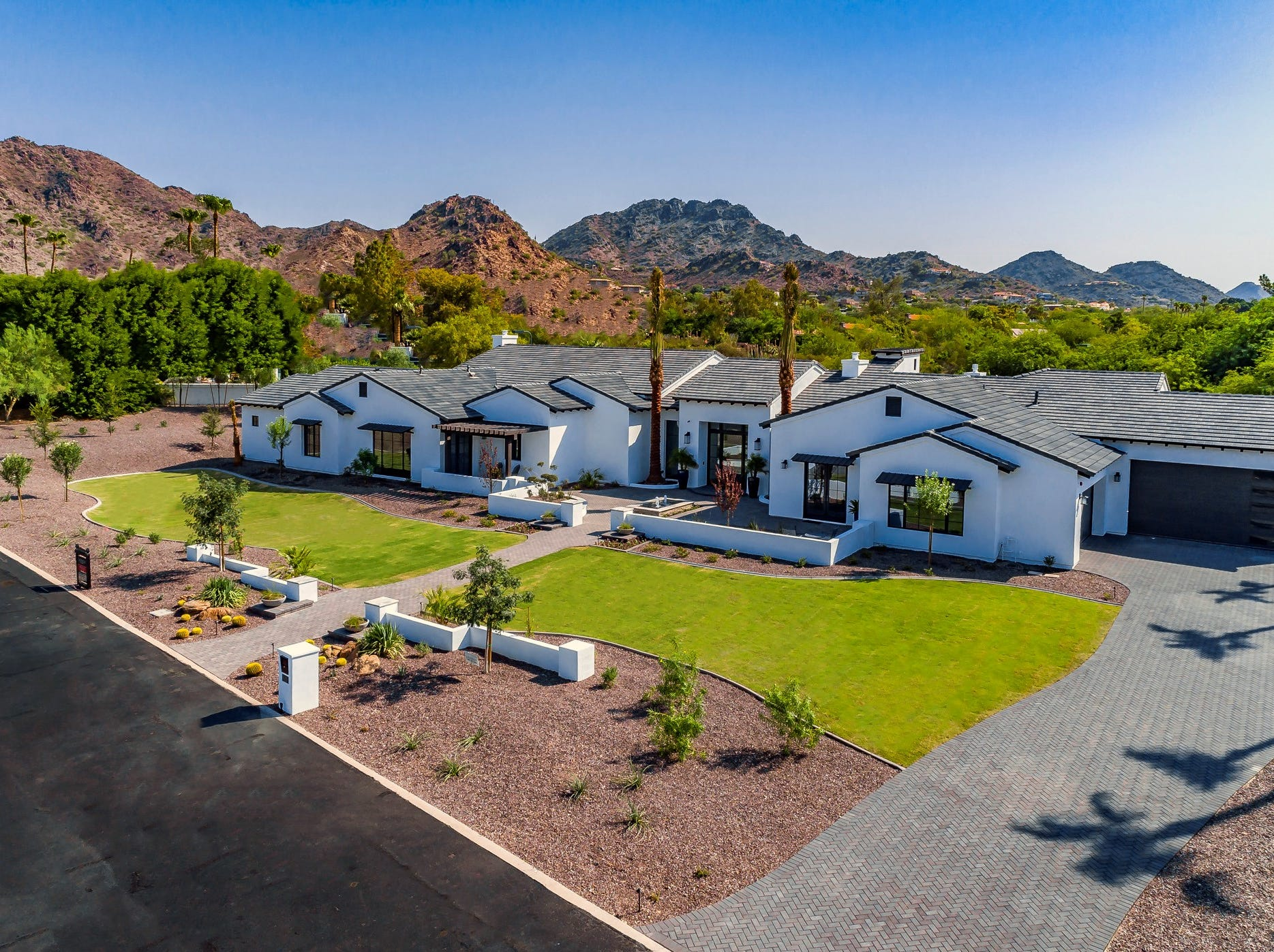 Oliver Ekman-Larsson, captain and defenseman for the Arizona Coyotes, purchased this contemporary-style mansion in Paradise Valley. The 6,425-square-foot house has 5 bedrooms and 7 bathrooms.