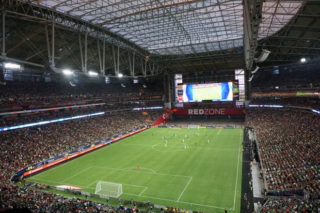 State Farm Stadium will host a 2019 CONCACAF Gold Cup semifinal match.