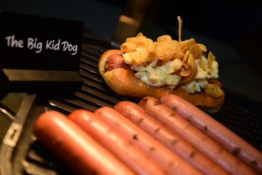 The Big Kid Dog is one of the new items being offered during the Phoenix Suns 2018-2019 season at Talking Stick Resort Arena.