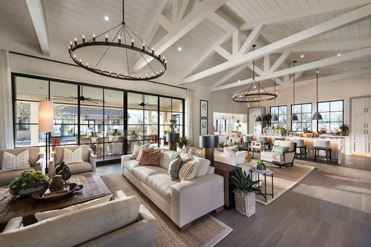 Phoenix-based Camelot Homes won a top industry competition for constructing the best home of the year with a north Scottsdale house in the White Horse community.