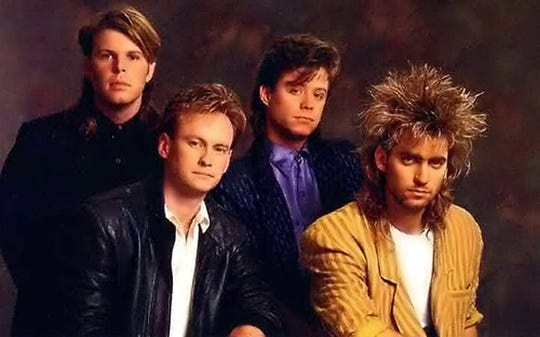 """Mr. Mister, formed by two high-school friends who met in Phoenix, produced two No. 1 singles in 1985, """"Broken Wings"""" and """"Kyrie."""""""