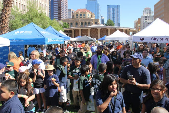 Phoenix Food Day, an annual community event celebrating healthy food, was held at Cesar Chavez Plaza in downtown Phoenix in 2015. This year, the event is being held at the Cartwright Community Garden in Phoenix.