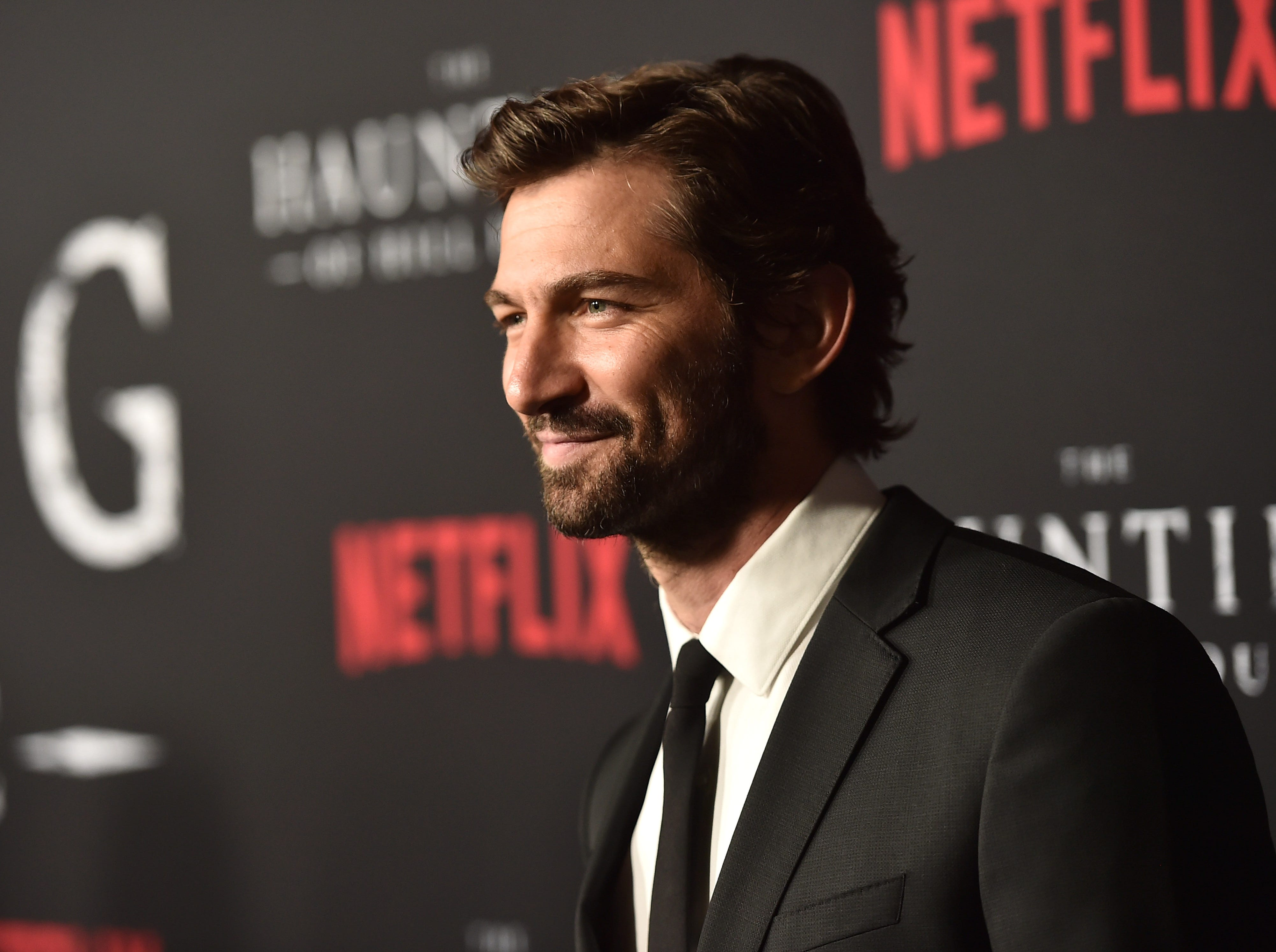 "Michiel Huisman attends the premiere of Neflix's ""The Haunting Of Hill House"" at ArcLight Hollywood on October 8, 2018 in Hollywood, California."