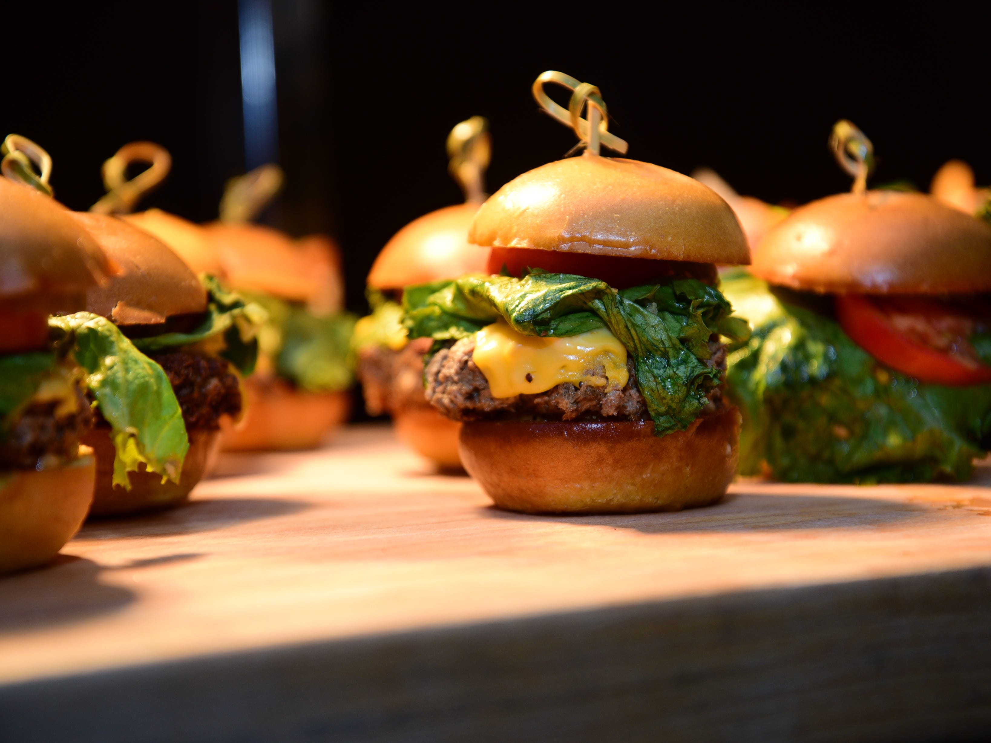 The Impossible Sliders are new items being offered during the Phoenix Suns 2018-2019 season at Talking Stick Resort Arena.