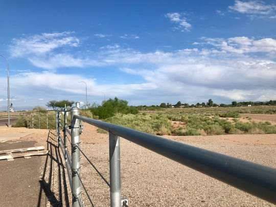 The 78-acre lot on the southeast corner of McQueen and Queen Creek roads.