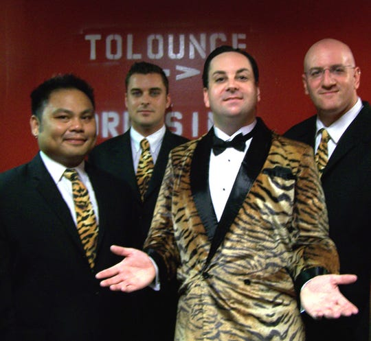 Richard Cheese and his band Lounge Against the Machine. Cheese, who got his start on Phoenix radio, is known for his  lounge versions of hard-rockand rap songs.