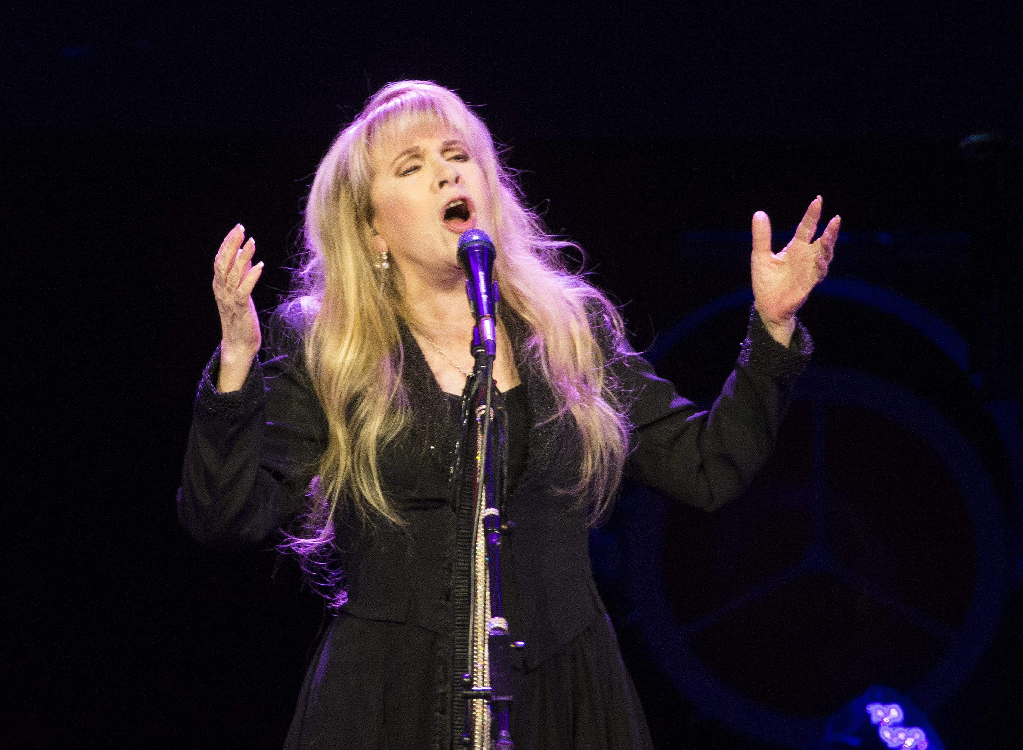 Could Stevie Nicks edge out Def Leppard to win the Rock and Roll Hall of Fame fan vote?