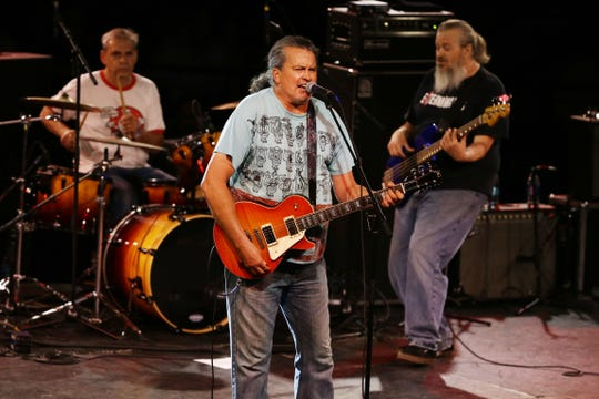 Meat Puppets perform Aug. 17, 2017,  in Phoenix after being inducted into the Arizona Music & Entertainment Hall of Fame.  The trio — who met at Brophy College Preparatory — created a hybrid of punk rock, folk and country music that set the stage for countless alternative rock bands that followed.