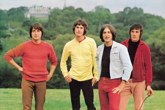 The Kinks in 1968: Pete Quaife, Ray Davies, Dave Davies, Mick Avory