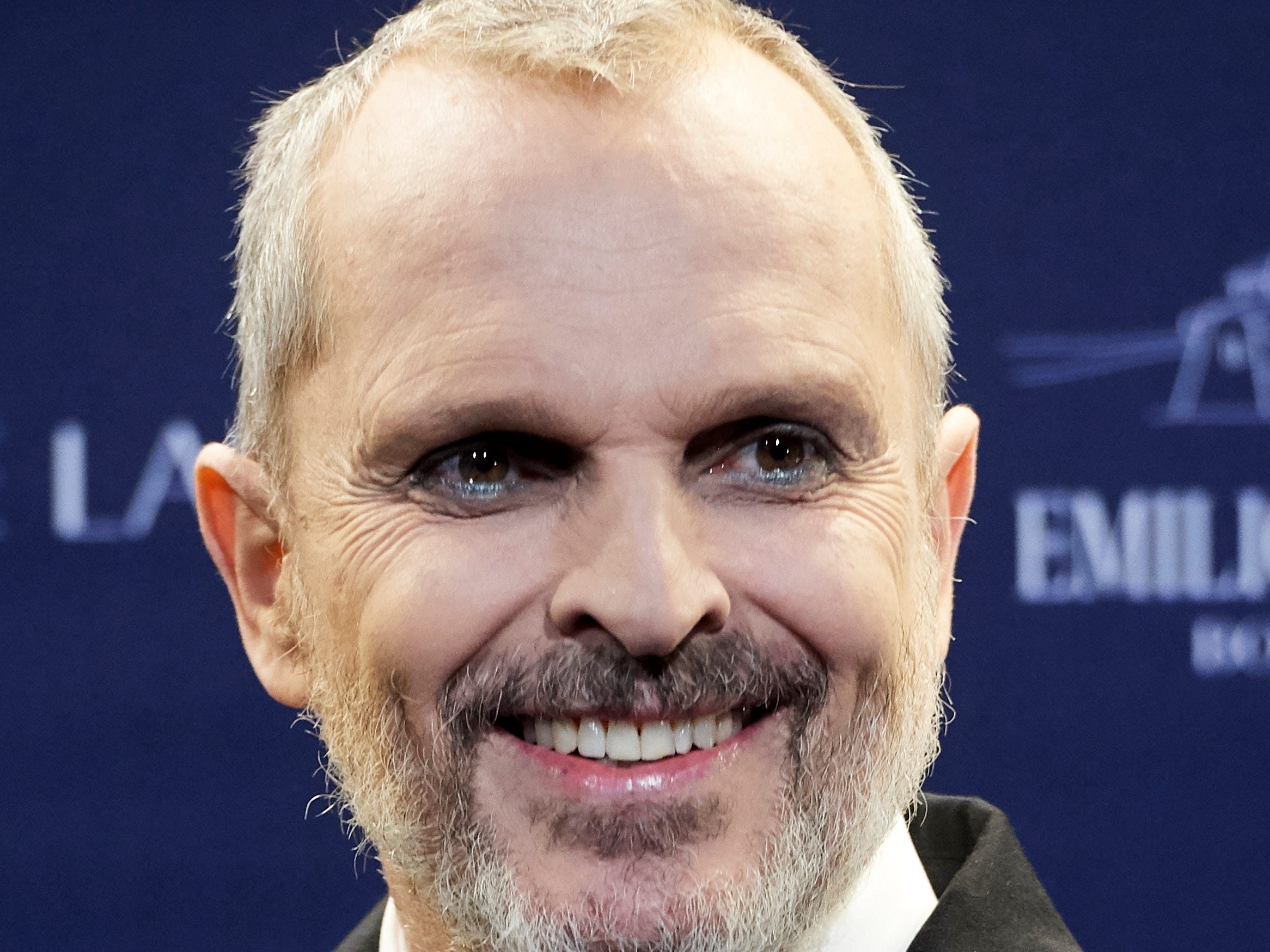 Singer Miguel Bose attends an event at the Real Academia de Bellas Artes de San Fernando Museum on Oct. 9, 2018 in Madrid, Spain.