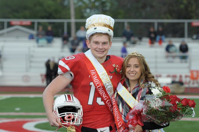 Port Clinton High School named its Homecoming King and Queen on Oct. 5.  The 2018 Royal Couple are Mac Brenner and Stacey Bragg.