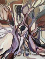 "Artwork by Valerie Sharp is featured in the exhibit, ""Synchronicity,"" at Gallery 40 in Poughkeepsie."