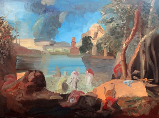 """""""Orpheus,"""" by Lois Walsh is part of the exhibit, """"Synchronicity,"""" at Gallery 40 in Poughkeepsie."""