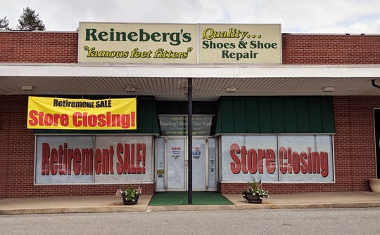 """Reineberg's was closed earlier this week as the owners prepared for its retirement sale. Owner Bob Reineberg said, """"It's time."""""""