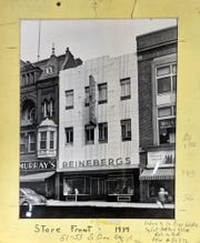 Reineberg's moved from its original location to the store it occupied on South George Street until it closed in 1994, leaving the Springettsbury Township store to carry on the family tradition. The Reineberg's sign still graces the building.