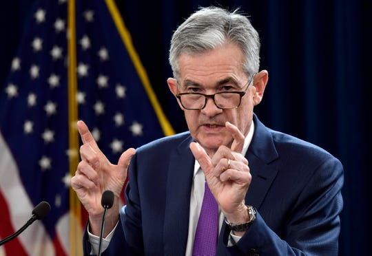 Federal Reserve Chairman Jerome Powell speaks during a news conference in Washington, Wednesday, Sept. 26, 2018. The Federal Reserve has raised a key interest rate for the third time this year in response to a strong U.S. economy and signaled that it expects to maintain a pace of gradual rate hikes. (AP Photo/Susan Walsh)