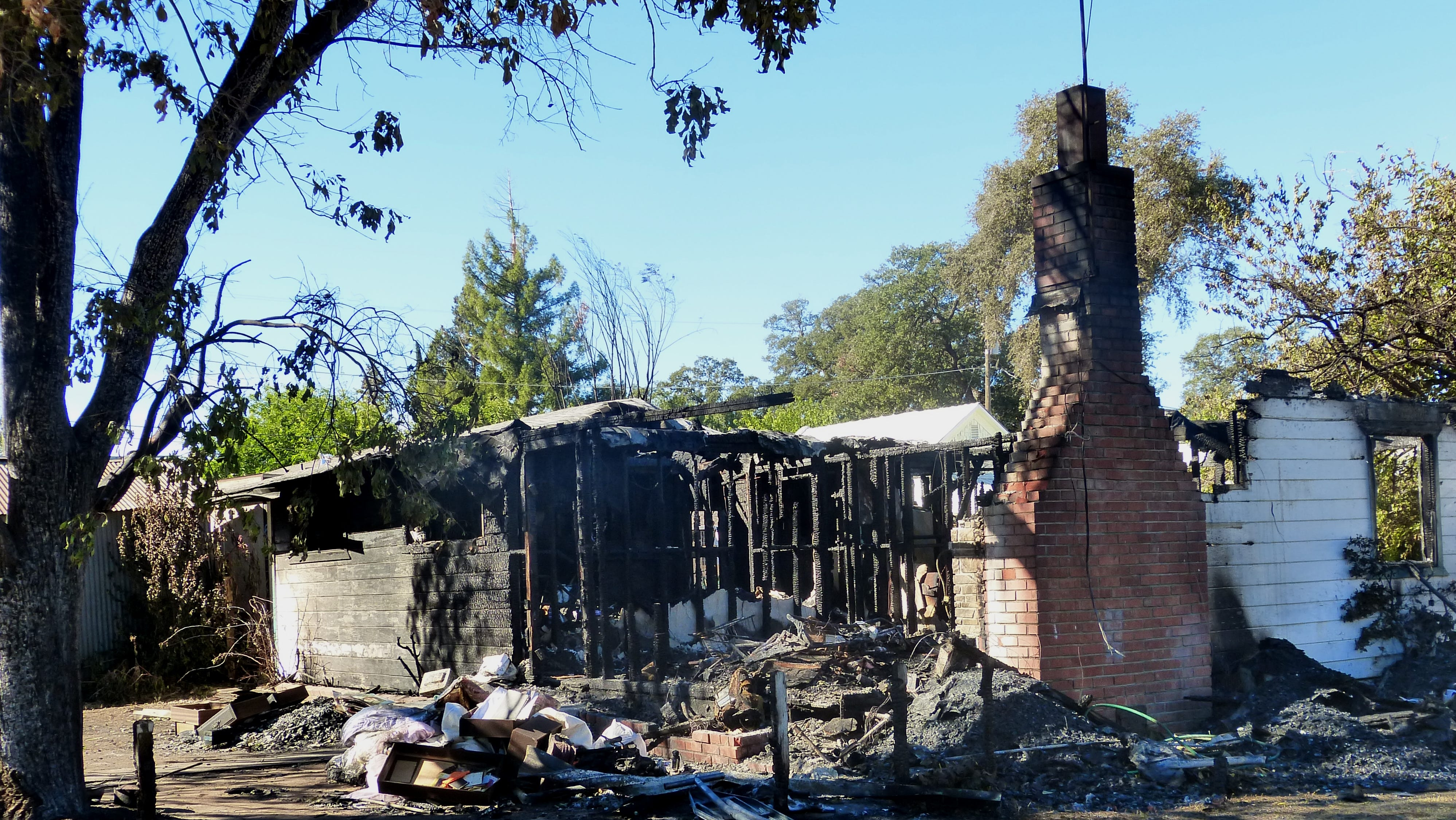 A Cottonwood woman died in a Sunday morning fire, but it's not known if that blaze might be connected to a recent series of fires in the community.