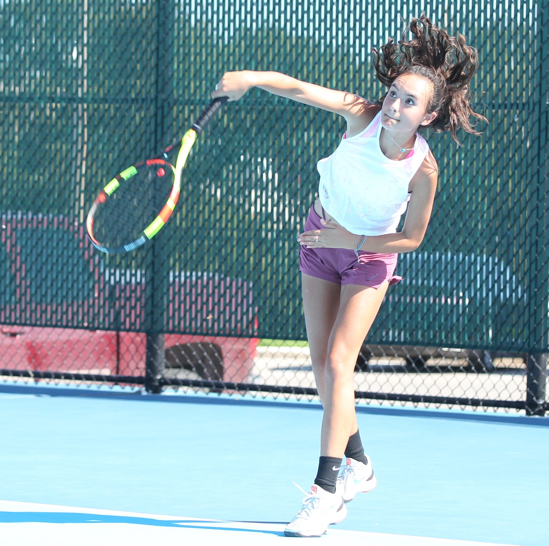 San Angelo Central tennis falls in area round