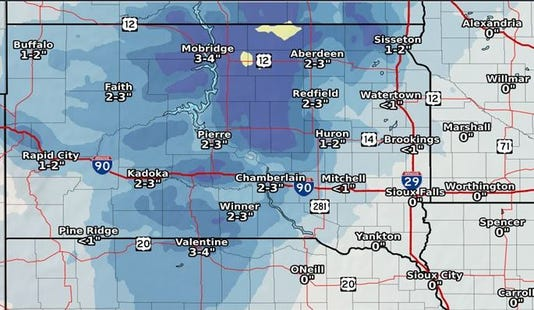 Snow Likely Tuesday and Wednesday