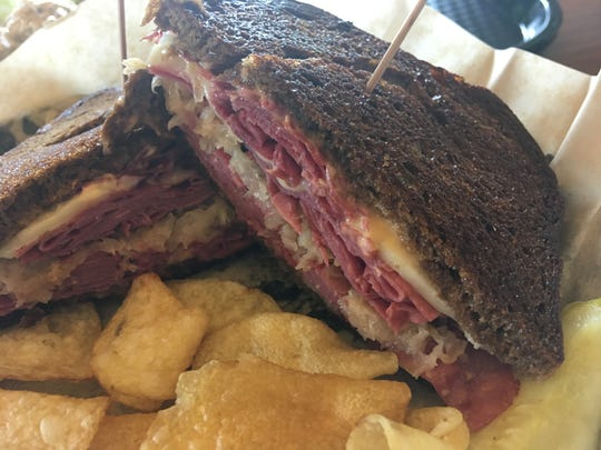 The Reuben ($7.79) is a good option for warm sandwiches. It's a good, solid Reuben.