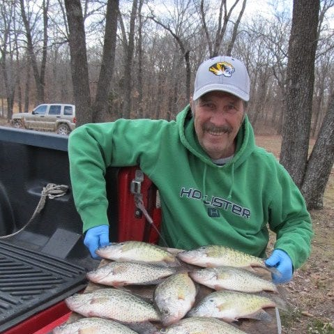 Autumn a popular time for crappie fishing