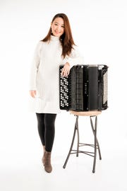 Hanzhi Wang is the first accordionist to win a place on the roster of Young Concert Artists in 58 years.