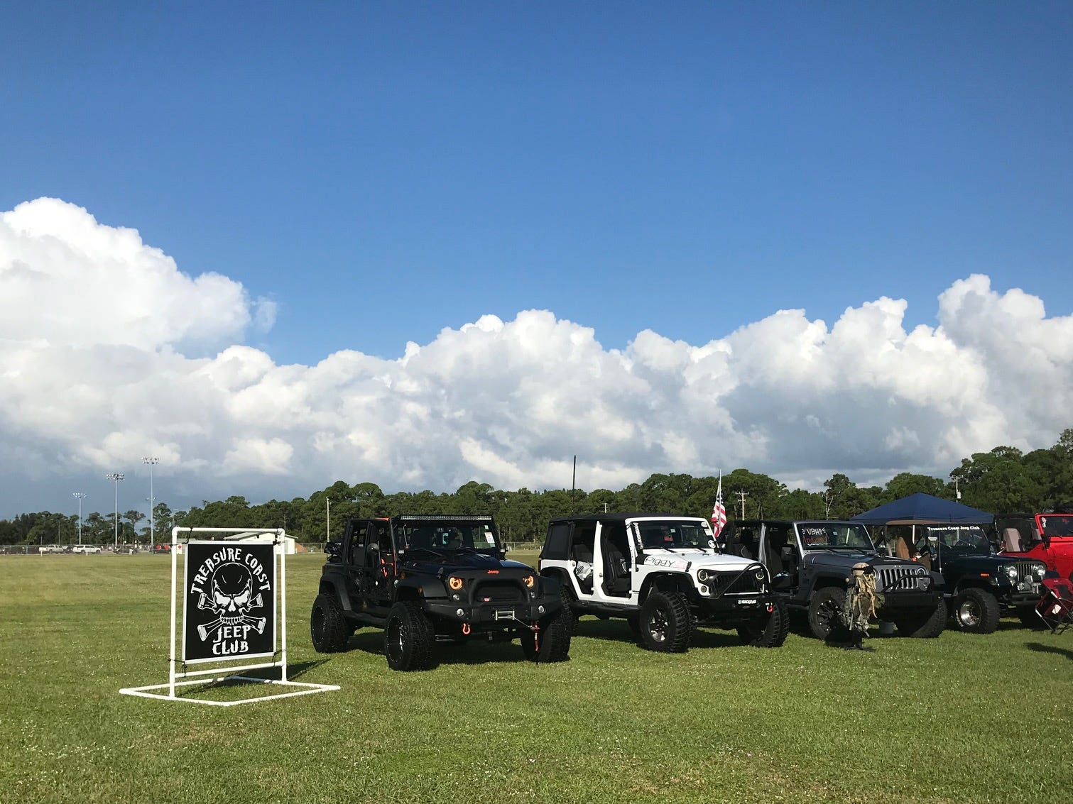 The Jeep Club was also on hand.